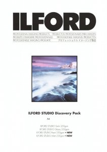 Ilford Studio Discovery Pack A4 - zestaw testowy Ilford Studio