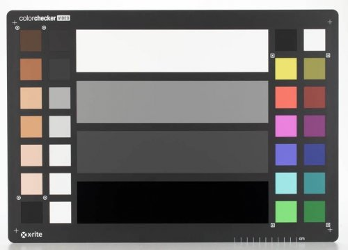 X-Rite ColorChecker VideoXL