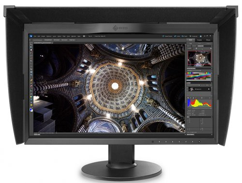 Monitor EIZO ColorEdge CG248-4K + ColorNavigator + Kaptur