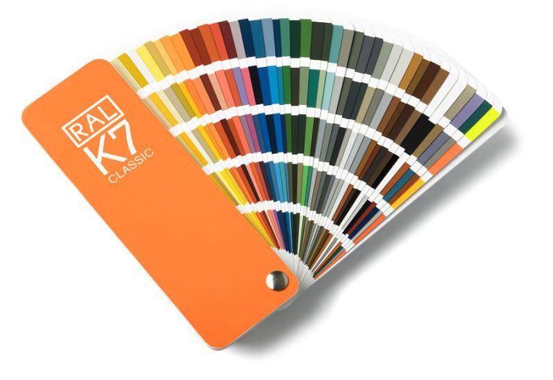 Oryginał Paleta RAL Classic on-line - lista dostępnych kolorów RAL HU64