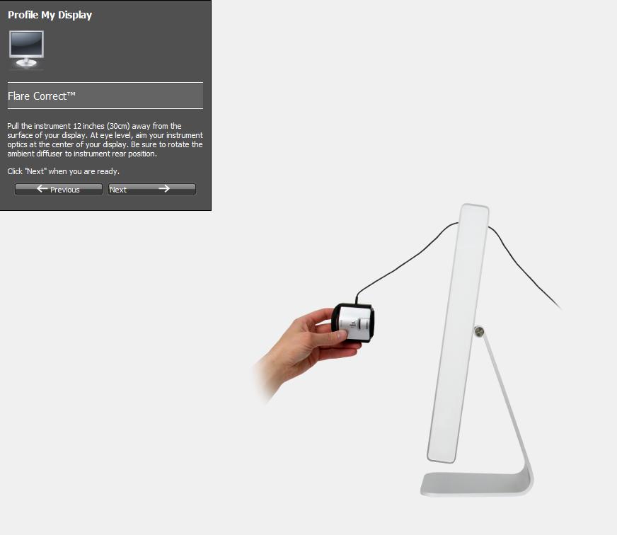i1Display Pro, kalibracja monitora z krok po kroku  Część 1